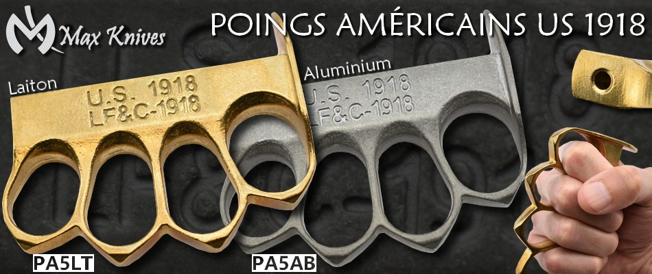 Poings américains US 1918