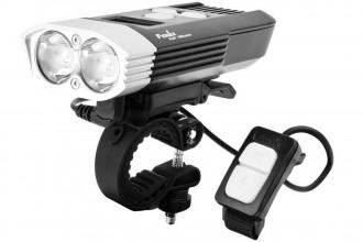 BC30R 2017 - Lampe de vélo rechargeable - 1800 lumens
