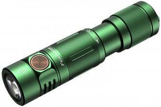 Fenix E05R vert Mini lampe de poche porte-clés rechargeable - 400 lumens