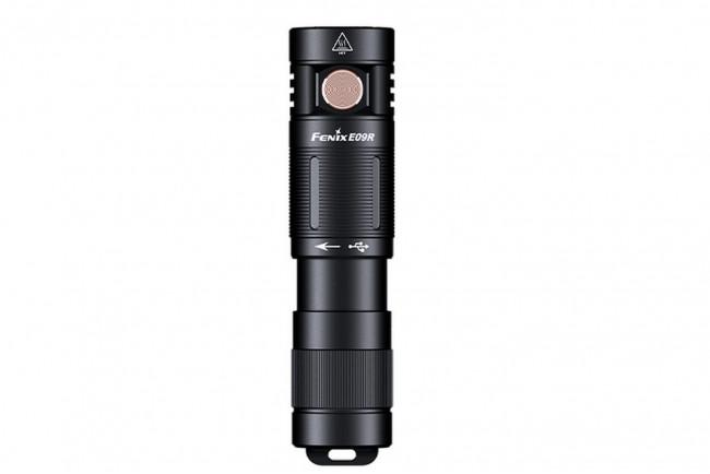 Fenix E09R lampe de poche compacte rechargeable à haute puissance - 600 lumens