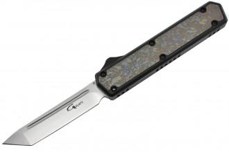 Golgoth G11 Custom lame tanto aluminium noir et titane numéro 1232