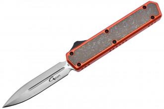 Golgoth G11 Custom double tranchant aluminium orange et titane numéro 1234