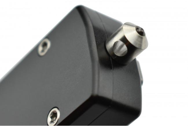 Golgoth G12 couteau automatique lame drop point acier D2 manche aluminium
