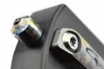 Golgoth G12G+ couteau automatique lame glaive double tranchant acier D2 manche aluminium