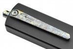 Golgoth G12T+ couteau automatique lame tanto acier D2 manche aluminium