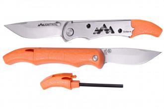 Outdoor Edge IG23C Ignitro couteau de survie avec allume-feu et sifflet intégré