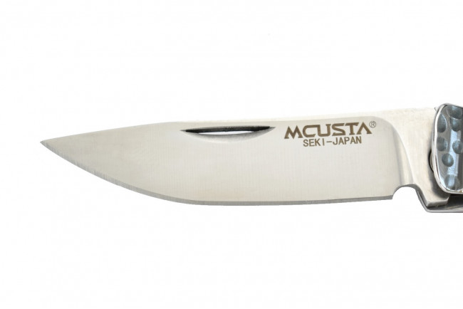 Mcusta MC-152 - Bamboo Money Clip - Manche Stamina rouge