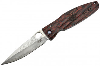 Mcusta MC-183G Shogun SPG2 Pakka Wood rouge
