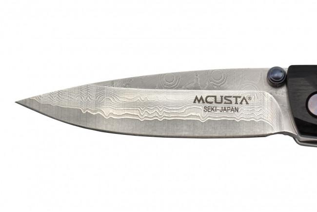 Mcusta MC-79DP Tsuchi - Manche Pakka Wood Noir