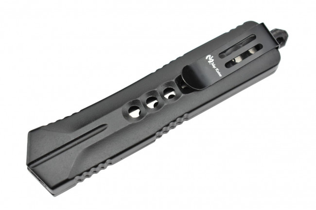 MKO5 Couteau automatique OTF aluminium anodisé noir