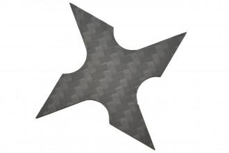 Maxknives Shuriken 4 branches en Fibre de carbone