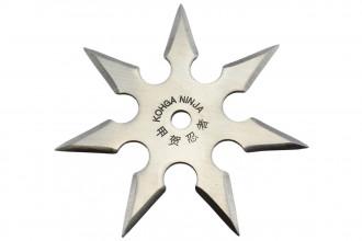 Maxknives NS147 Ninja Shuriken 7 branches acier 420 silver