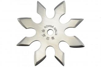 Maxknives NS151 Ninja Shuriken 8 branches acier 420 silver