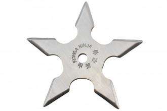 Maxknives NS152 Ninja Shuriken 5 branches acier 420 silver
