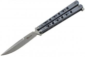 Maxknives P40 OX Couteau papillon manche titane anodisé