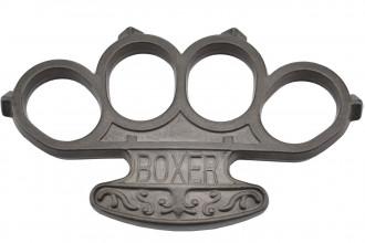 Max Knives PA1AB - BOXER - Aluminium gris noir
