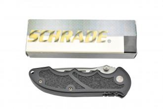 Schrade SCHA Couteau pliant Extreme Tactical à ouverture assistée
