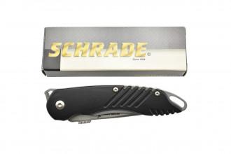 Schrade SCHA1 Couteau pliant Extreme Tactical à ouverture assistée