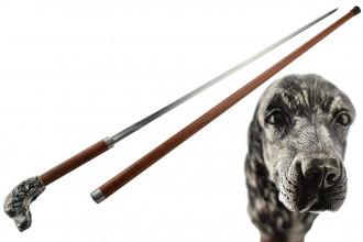 Canne-épée Hanwei Paul Chen Tête de chien