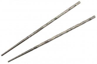 Kizer T309A1 Chopsticks Baguettes en titane pour le repas couleur gris