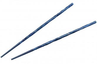 Kizer T309A2 Chopsticks Baguettes en titane pour le repas couleur bleu