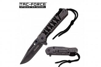 M-Tech TF872BK - Couteau à paracorde 219mm