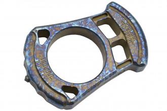 MaxKnives TIKNU1+ Impact tool en Titane anodisé crazy